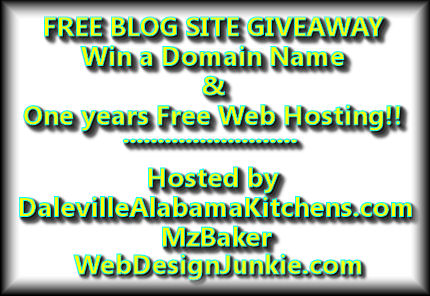 free hosting and domain name giveaway