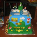 Mario Cake I made for my son's 8th Birthday.
