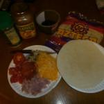 Pizza inside the Burrito!