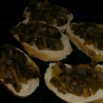 French Baguette Veggie Snacks, Easy and Delicious!