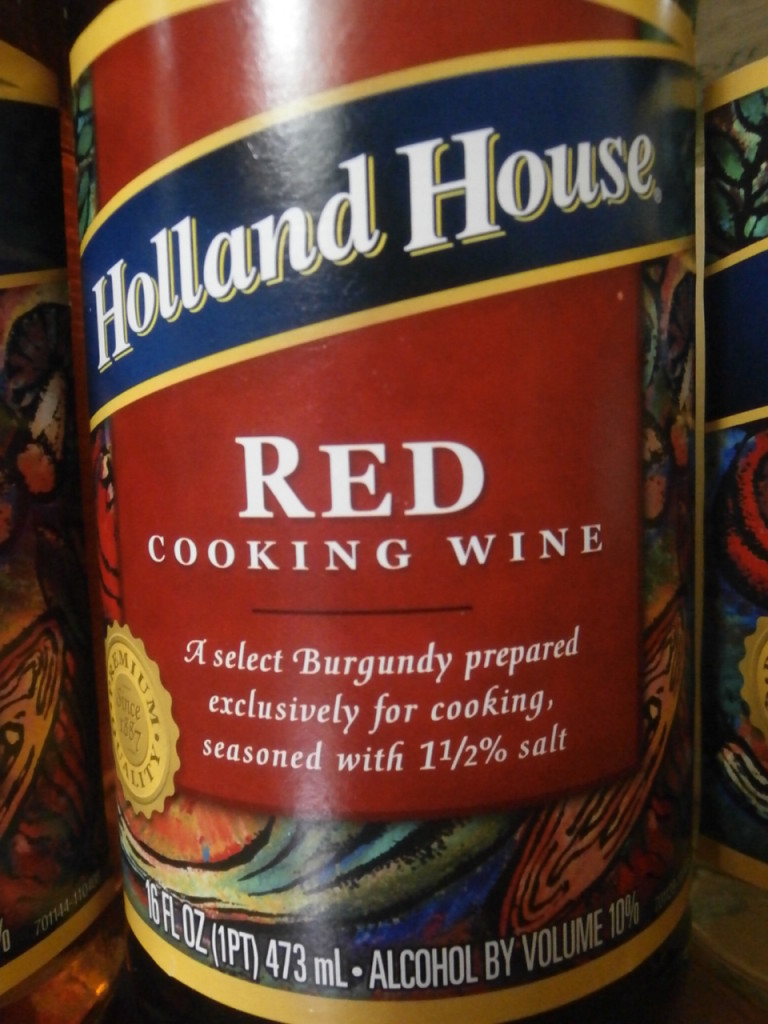 Holland House Red Cooking Wine