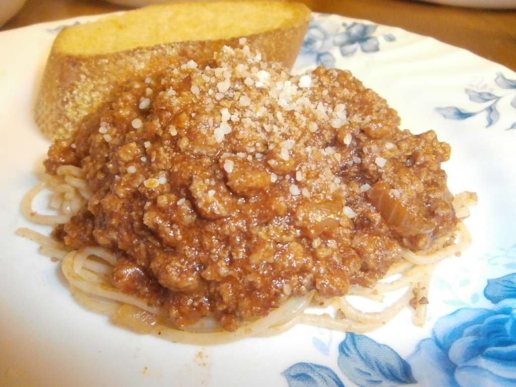 Spaghetti Sauce made with Holland House Red Cooking Wine