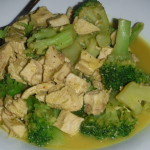 Coconut Curry Chicken & Broccoli!