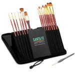 Santa Fe Art Supply Artist Brush Set! #SantaFeArtSupplyArtistBrushSet