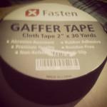 XFasten Gaffer Tape Review! #xfasten