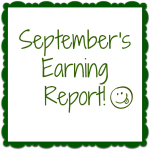 September's Earnings! How Much Did Your Blog Earn?