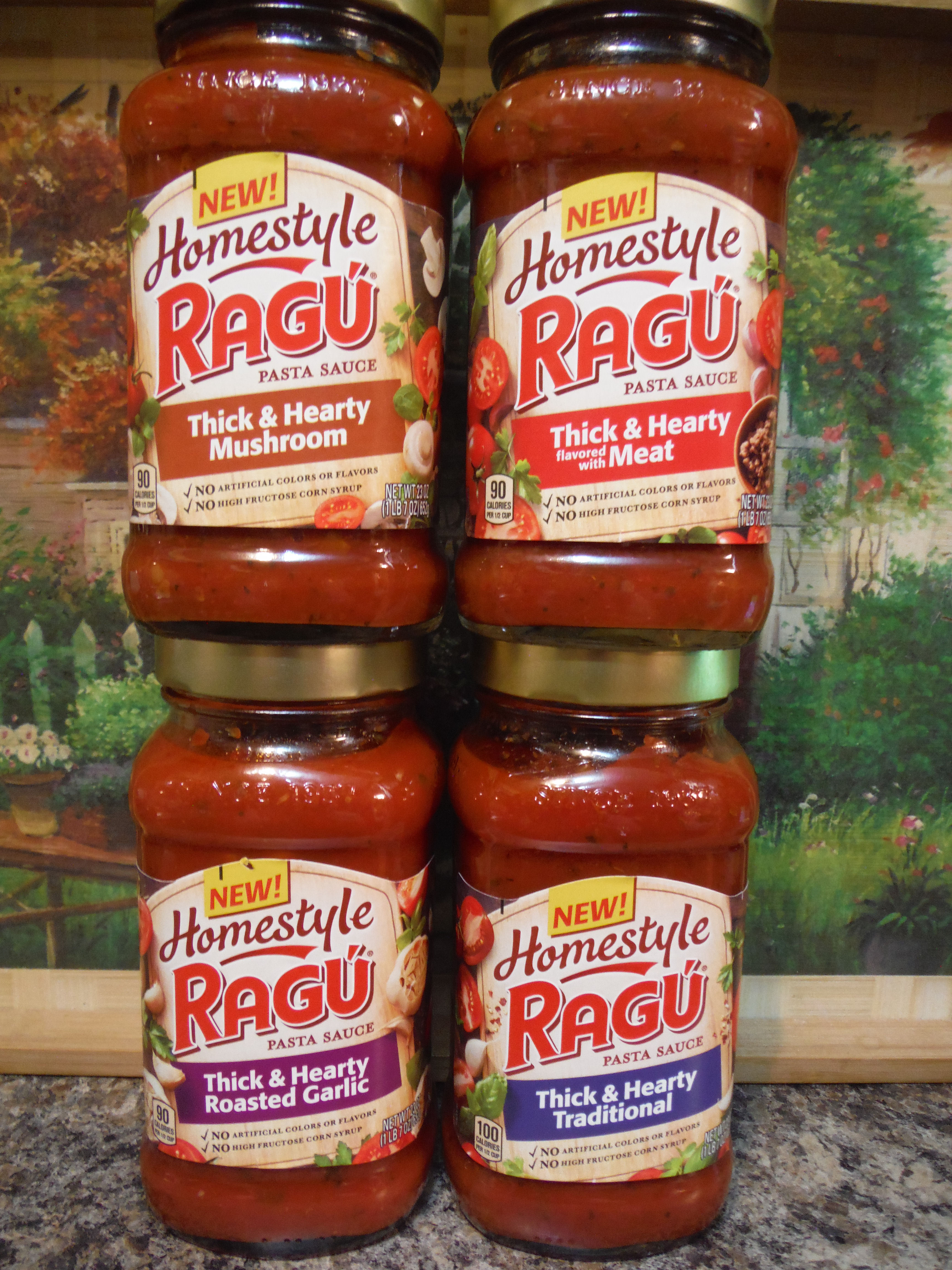 Delicious Ragu Homestyle Sauce! #Delicious #Thick #ad #Hearty