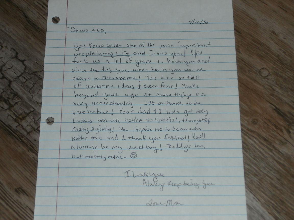 Letter to Leo, My Sweet Boy! #ad #YoplaitGoBig