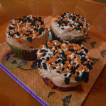 Treats for The Month of October! CupCakes! #Halloween #Boo