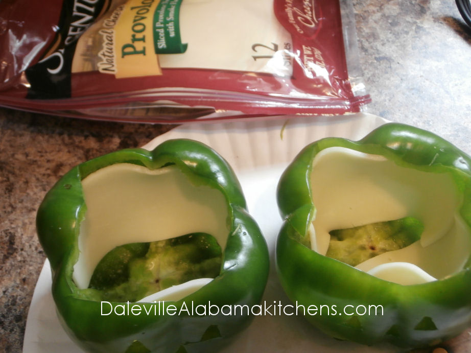 Tricks for The Month of October! Italian Stuffed Jack-O-Peppers! #Halloween #Boo